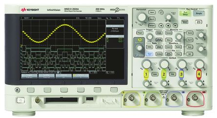 Keysight Technologies InfiniiVision 2000 X Series DSOX2014A Digital Oscilloscope, Bench, 4 Channels, 100MHz
