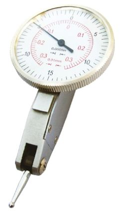 RS PRO Lever Dial Indicator, With UKAS Calibration