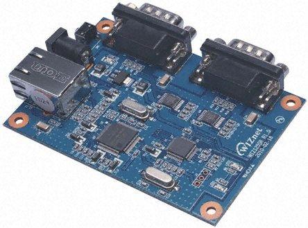 WIZnet Inc WIZ125SR, 2-Ch Ethernet Transceiver, 100Mbps