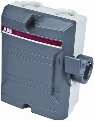 Enclosed Safety Switch, 3P, 16A, Grey