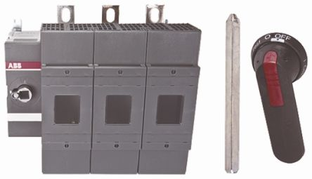 400 A 3P Fused Isolator Switch, B1-B4 Fuse Size