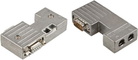 40 Series 17.4mm Pitch 9 Way Straight Female D-sub Connector Kit product photo