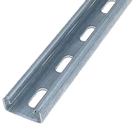 21 x 41mm Single Galvanised Steel Strut, 3m Long | Unistrut | RS Components  UAE