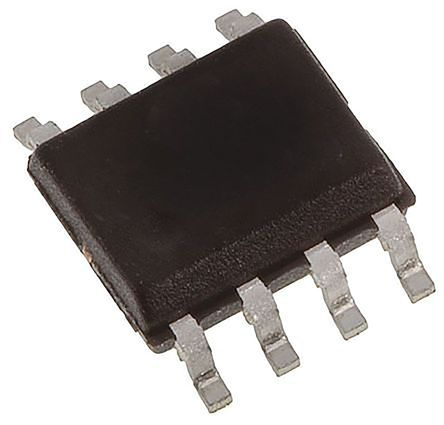 Maxim DS1302S+, Real Time Clock (RTC), 31B RAM Serial, 8-Pin SOIC