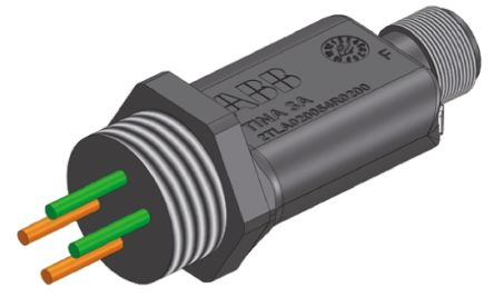 ABB 2TLA020054R0200 Adaptor, For Use With Pluto Safety Controller