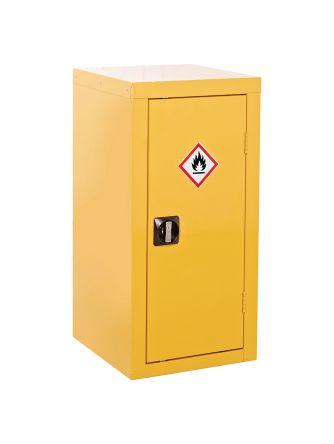 Yellow Lockable 1 Doors Hazardous Substance Cabinet, 900mm x 460mm x 460mm product photo
