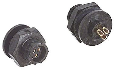 Switchcraft Panel Mount Connector, 3 Pole Socket MICRO-CON-X Series