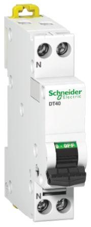 Acti 9 iC60L MCB Mini Circuit Breaker 2P, 16 A, 10 kA, Curve C