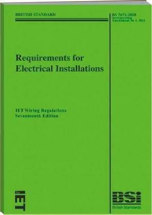 requirements for electrical installations iet wiring regulations rh uk rs online com 17th edition wiring regs course 17th edition wiring regs book
