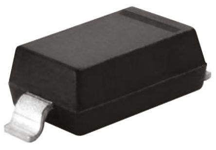 Diodes Inc, 5.1V Zener Diode 5% 500 mW SMT 2-Pin SOD-123