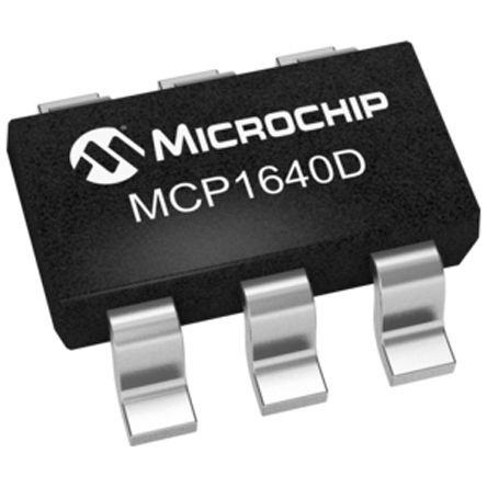 Microchip MCP1640DT-I/CHY, Boost Regulator, Step Up 350mA Adjustable, 575 kHz 6-Pin, SOT-23