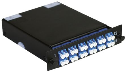 12 Port MTP to LC Duplex Cassette, OS1 , OS2 Optical Fibre Type product photo