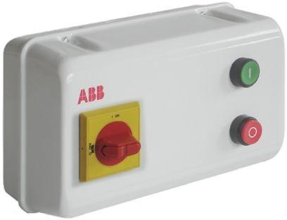 ABB 22 kW Star Delta Starter, 400 V ac, 3 Phase, IP55