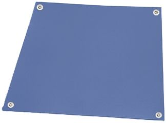Statfree rubber bench mat, blue 0.6x0.9m