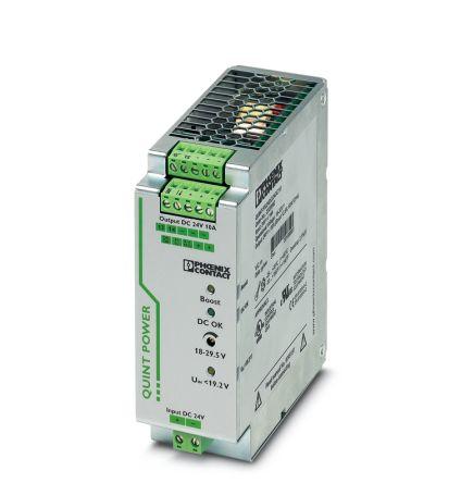 Phoenix Contact Convertidor Dc - Dc Aislado 240W, Salida 24V Dc, 10A, ±2%, ±0.1%, 2320092