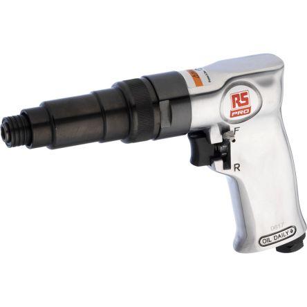 RS PRO APT407 Pistol Air Screwdriver, 1/4in Air Inlet (BSP), 1800rpm