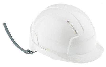 EVOLite White ABS Standard Peak Vented Hard Hat product photo