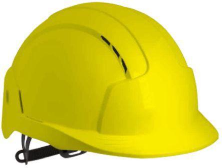 EVOLite Yellow ABS Standard Peak Vented Hard Hat product photo