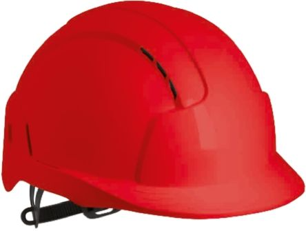 EVOLite Red ABS Standard Peak Vented Hard Hat product photo
