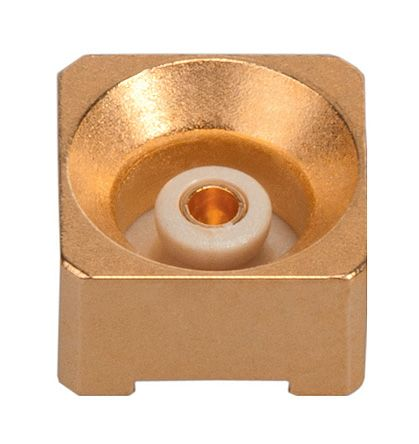 Huber & Suhner 50Ω Straight Surface Mount MMBX Connector, jack, Solder Termination, 12.4GHz