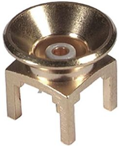 Huber & Suhner 50Ω Straight Through Hole MMBX Connector, jack, Solder Termination, 12.4GHz