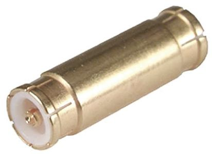 Straight 50Ω RF Adapter MMBX Plug to MMBX Plug 12.4GHz