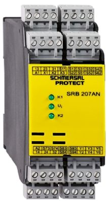 SRB207AN 24V | Schmersal 24 V dc Safety Relay Compatible With Light on