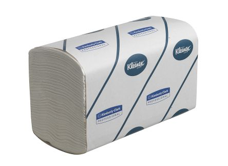 Kimberly Clark Kleenex Folded White 315 x 215mm Paper Towel 3 ply, 2880 Sheets