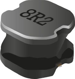 Bourns, SRN6045, 6045 Shielded Wire-wound SMD Inductor with a Ferrite Core, 33 μH ±20% Wire-Wound 1.5A Idc