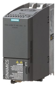 Siemens SINAMICS G120C Inverter Drive 0.75 kW with EMC Filter, 3-Phase In, 400 V ac, 2.2 A, 0 → 550 Hz Out
