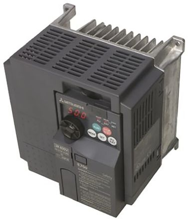 Mitsubishi Inverter Drive, 3-Phase In, 0 2 → 400Hz Out 7 5 kW, 400 V ac, 17  A FR-E740, IP20, Profibus