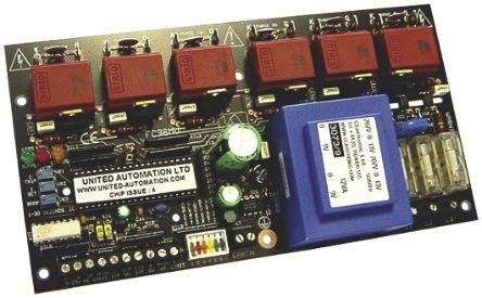 United Automation, A34462, Thyristor Trigger Module, 440V ac, 203 x 108 x 40mm