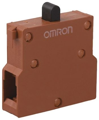 Omron, Push Button Switchblock, For Use With A22 Series