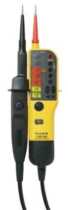 T110 Voltage Indicator with RCD Trip Test Continuity Check CAT III 690 V, CAT IV 600 V With RS Calibration