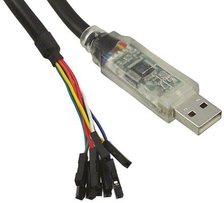 FTDI Chip, 5 V USB to UART Cable - C232HD-EDHSP-0