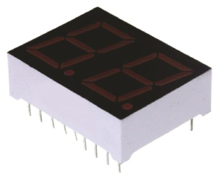 Lbp 602va2 Rohm 2 Digit 7 Segment Led Display Ca Red 36 Mcd Rh Dp 14 2mm 752 6436 Rs Malta Online