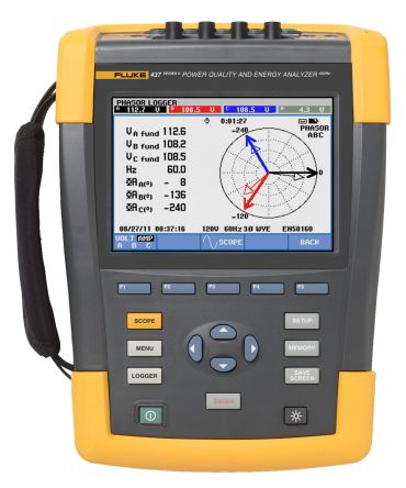 Fluke 437 Power Quality Analyser RS Calibration