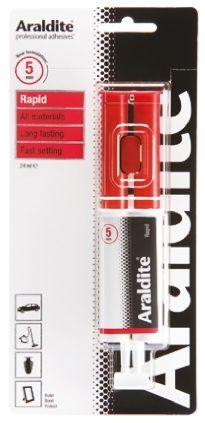 Araldite Rapid, 24 ml Syringe Epoxy Adhesive