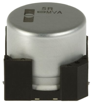 Nippon Chemi-Con 220μF Electrolytic Capacitor 16V dc, Surface Mount - EMVA160ADA221MF80G