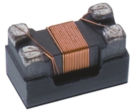 Wurth, WE-CNSW SMD, 1206 (3216M) Wire-wound SMD Inductor with a Ferrite Core, ±25% Dual 370mA Idc