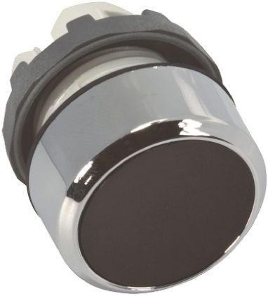 ABB ABB Modular Series, Black Push Button Head, Momentary, 22mm Cutout