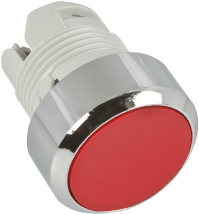 ABB ABB Modular Series, Red Push Button Head, Momentary, 22mm Cutout
