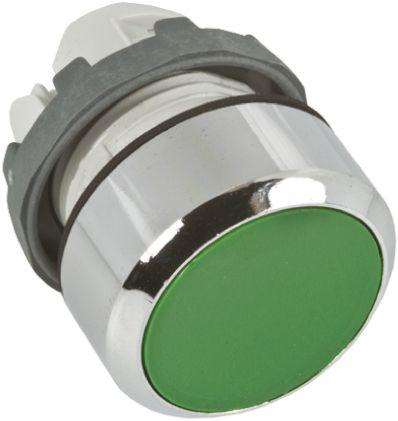 ABB ABB Modular Series, Green Push Button Head, Momentary, 22mm Cutout