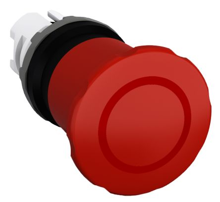 ABB Compact Emergency Button, Pull to Reset, Red 40mm Mushroom Head