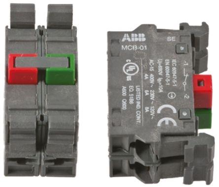 ABB ABB Modular Contact Block 1NO 1NC