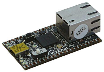 Evaluation Board W5200 STM32 MCU 28x52mm