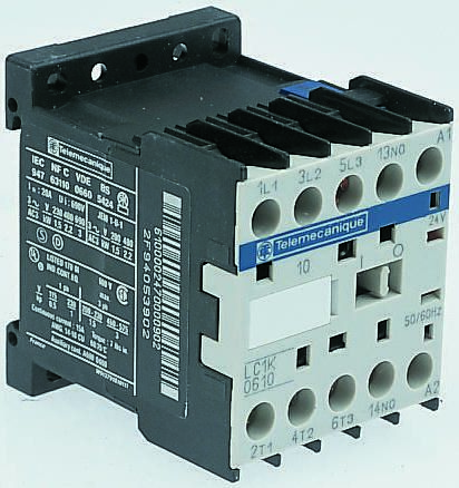 Schneider Electric TeSys K LC1K 3 Pole Contactor, 3NO, 9 A, 4 kW, 48 V ac  Coil