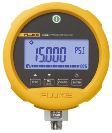 FLUKE-700GA4 Digital Pressure Gauge 1bar 1/4 NPT, Interface Type RS232 700 RS Calibration