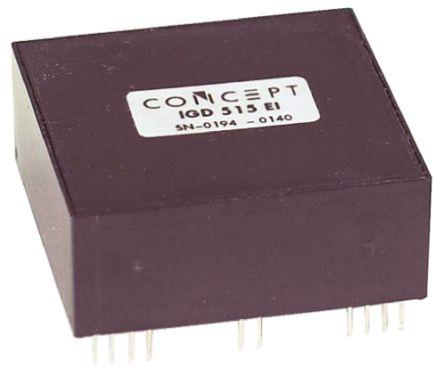CT Concept IGD515EI, IGBT Driver Module, 15 A, 15V 36-Pin