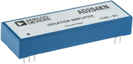 Analog Devices AD204KN, Isolation Amplifier 2-channel, 10-Pin PDIP